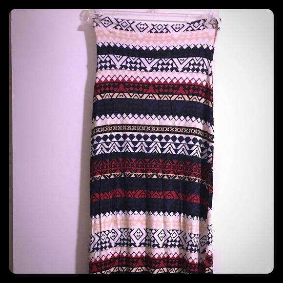 Charlotte Russe Dresses & Skirts - Cute maxi skirt! ⭐️